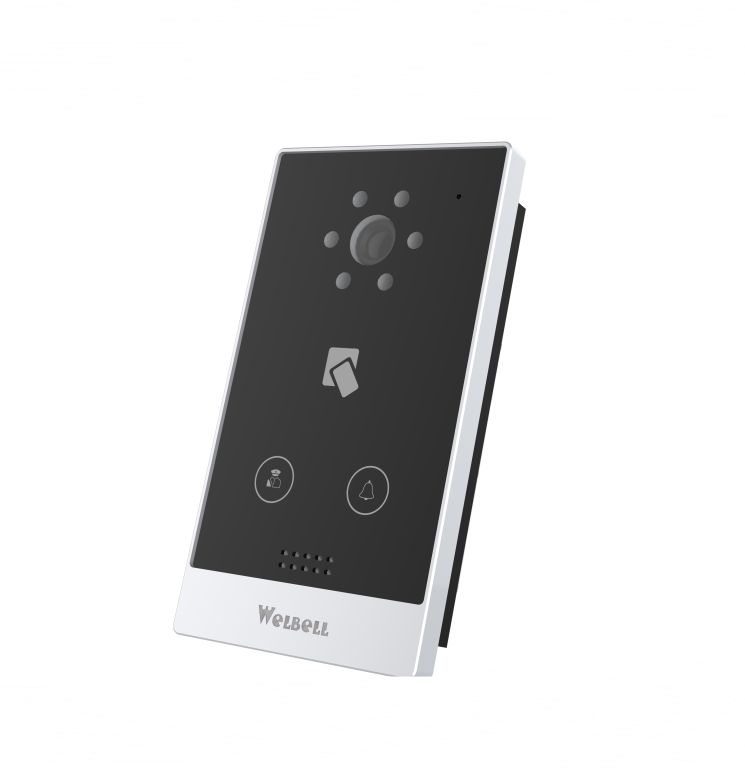 Smart Home Video Door Phone For Villa Door Bell Intercom System