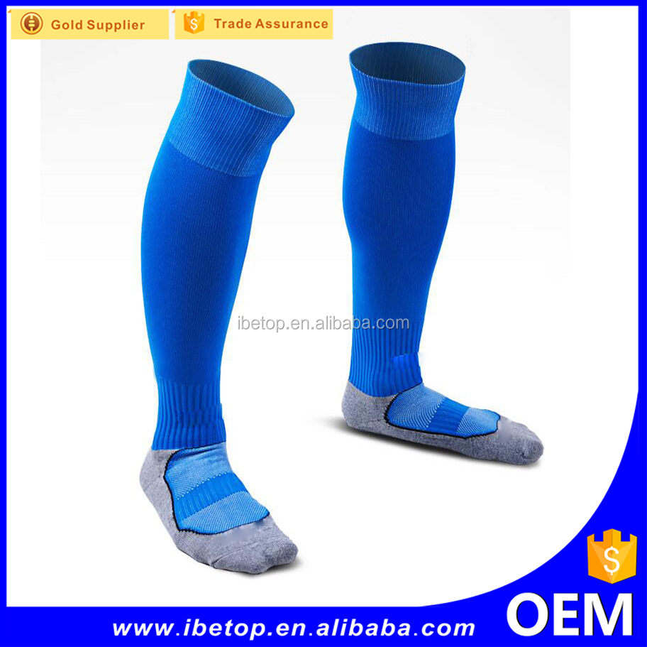 Wholesale high quality polyester sublimation the knee sock compression sock with factory price