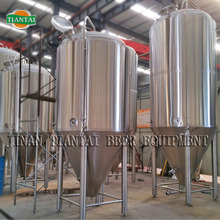 Glycol jacket conical fermenter/beer fermentation tanks