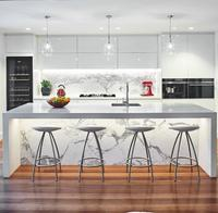 modern anti-scratch acrylic kitchen cabinet designs made by Eco-friendly materials