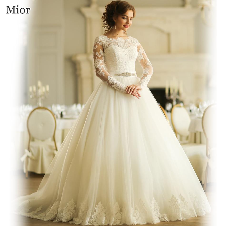 robe de mariage princess ball gown bridal dresses lebanon long sleeve vintage lace wedding dress. Black Bedroom Furniture Sets. Home Design Ideas