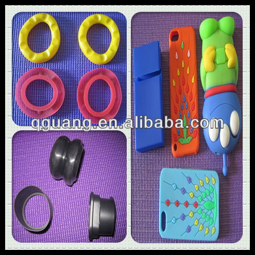 Custom molded silicone products