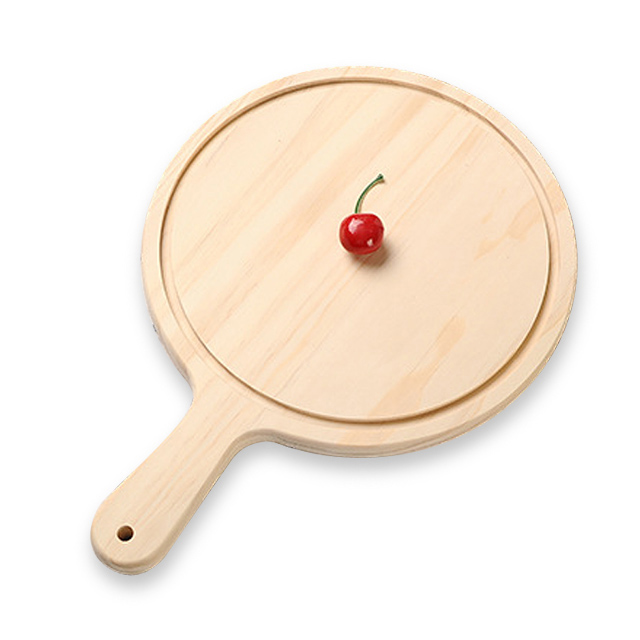Nordic Style Solid Wood Steak/Pizza/Bread Western Dinner <strong>Plate</strong>