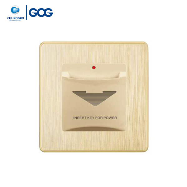 GOG new design product hotel power insert card key switch to get power