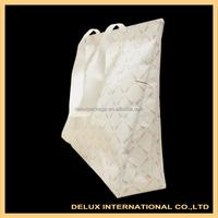 Big white strong disposable nonwoven cloth shoping bag