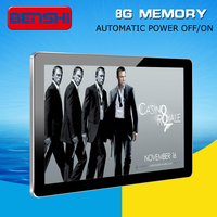 25 Inch Wall mount,TFT Type and Indoor Application Digital Poster image picture display