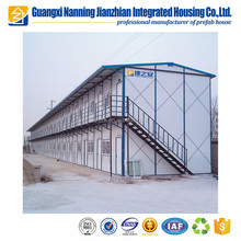 Prefabricated House As Construction Site Project Office Building Temporary Shelter
