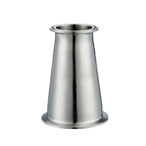 Mirror polished 304 / 316 Stainless Steel concentric reducer pipe clamp fitting joint