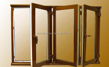 Custom aluminum glass folding window partition folding window