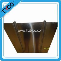 Heat Transfer Plates 4 inch by 48 inch Extruded Aluminum for 1/2 PEX