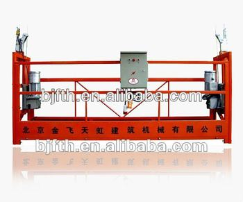 Manufacture for ZLP rope suspended platform with caster