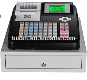 Colorful cheap cash register with big drawer for sale M-500