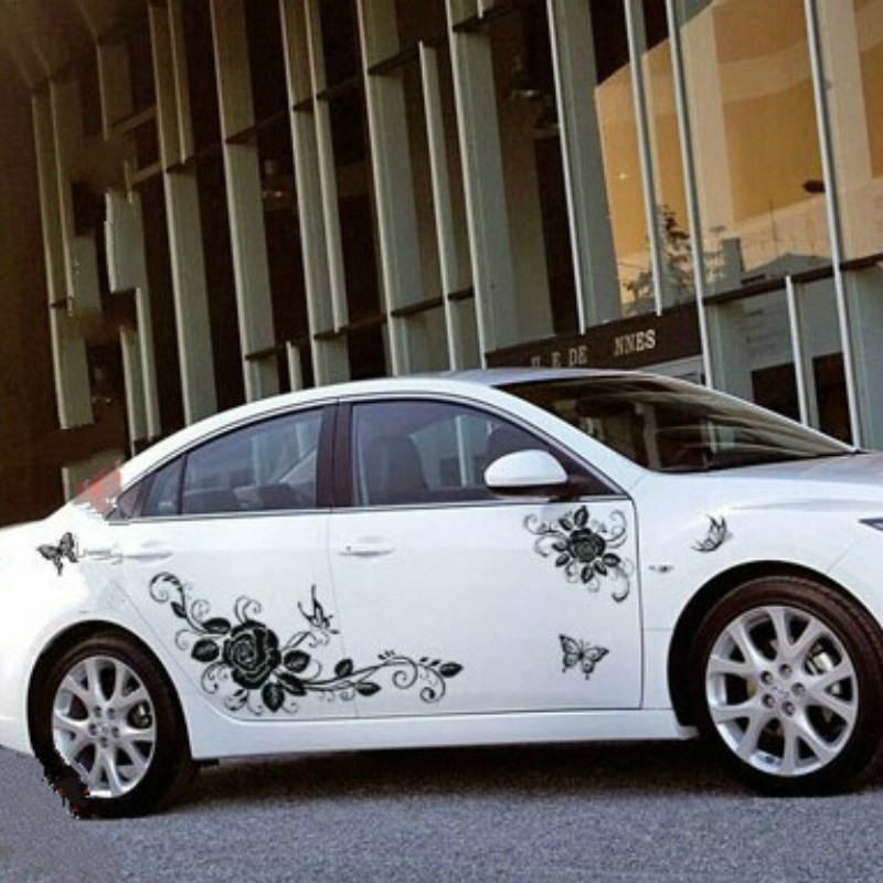 popular butterfly car accessories buy cheap butterfly car accessories lots from china butterfly. Black Bedroom Furniture Sets. Home Design Ideas