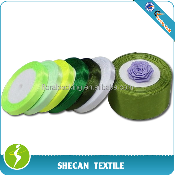 Gift packing colorful Satin Ribbon