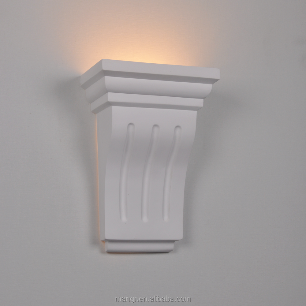 Wall-Light-MG-3011 Classic Gypsum art Design plaster wall lights indoor LED lamp