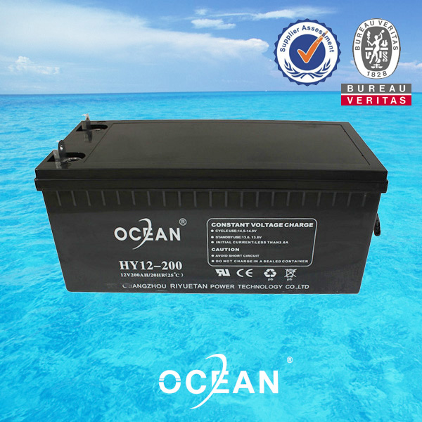 2017 high quality vrla professional battery 12V 200AH ups lead acid battery