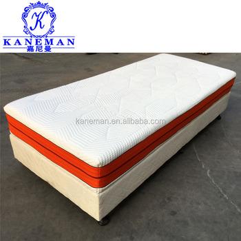 roll up packing 8 inch memory foam mattress topper