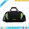 new design high quality large capacity black duffle sport travel bags