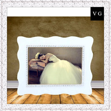 High quality popular handmade wedding photo frame/free photo picture frame