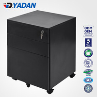 YADAN OFFICE FURNITURE office & school supplies 3 drawers movable pedestal filing cabinet