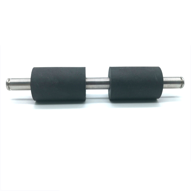 Custom hign quality hard feed silicone/epdm/small rubber coated roller