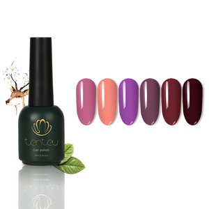 TENTEU Quick Dry Nail Polish Top Brand Color UV Gel With High Gloss Nail Gel Polish Form China Factory