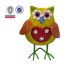 Metal ornament wholesale owl outdoor garden decor