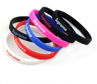 diy logo debossed silicone bracelet rainbow rubber loom bands promotional items silicone wristbands