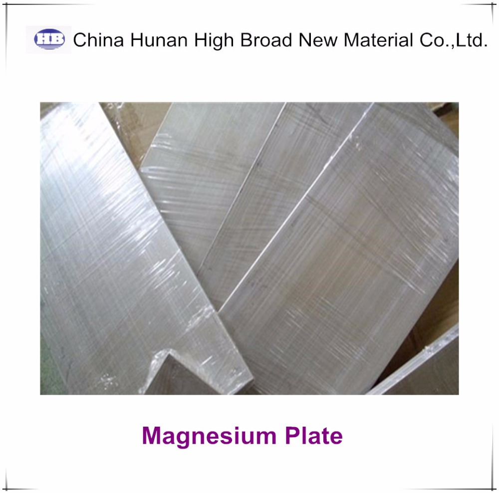 AM60 magnesium alloy plate