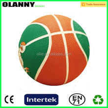 brand logo heat transfer printing 380-480g basketball in bulk