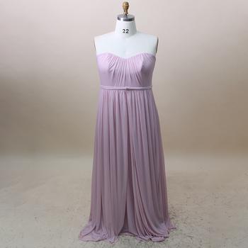 Maxi Lavender Custom Chiffon Plus Size Bridesmaid Dress For Fat Girls - Buy  Plus Size Bridesmaid Dresses,Lavender Bridesmaid Dresses,Custom Chiffon ...