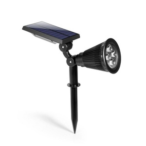 LED solar power light for lawn in garden and yard