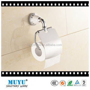 zinc chrome ceramic tissue holder toilet roll holder paper towel holder