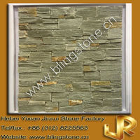 grey quartzite natural rough cut slate stone for wall decoration