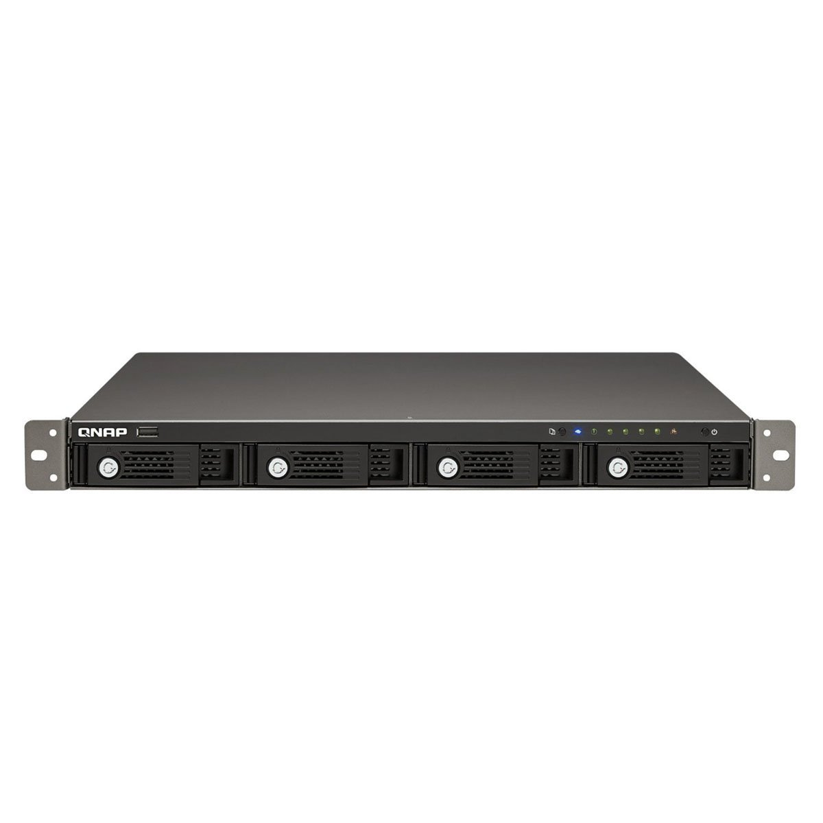 QNAP TS-420U 4-bay 1U iSCSI NAS, Hot-swappable (TS-420U)