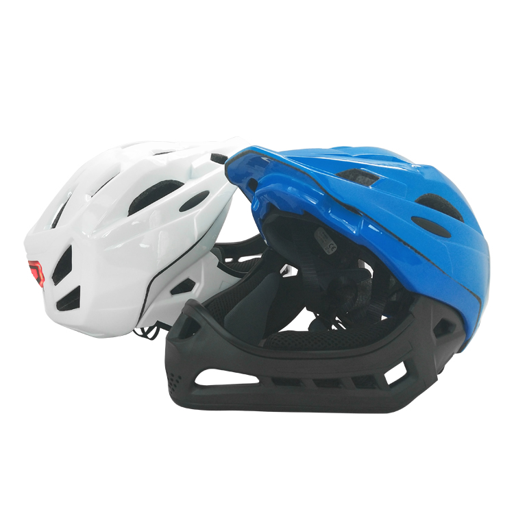 High Quality Kids Helmet With Chin Guard 8