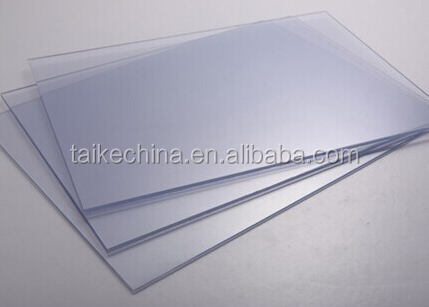 Clear transparent pvc thin plastic sheet pvc flexible plastic sheet (PVC927)