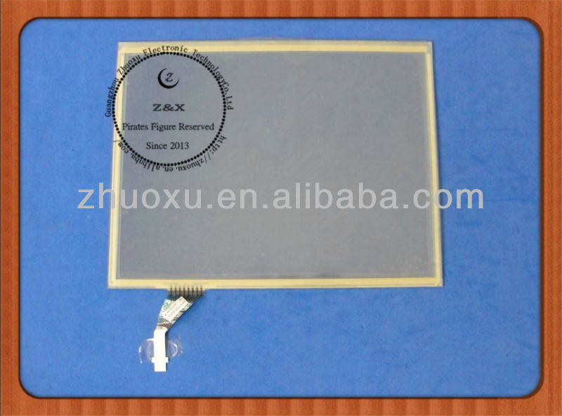 "Original 12.1"" inch 8 Wires Resistive Touch Screen Digitizer MTX0101-4203EP for Fujitsu"