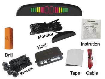 Unusual Buzzer Car Park Sensor System Reversing Assistance Assist Backup  Radar Outdoor Sound Alert System Radar System - Buy Outdoor Sound