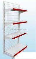 RH-HSBW01 900*450*1800 Single Side Wire Mesh Board Gondola Metal Shelf