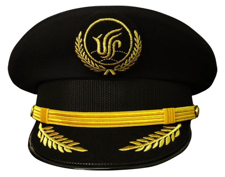 Customized Airline Pilot Cap - Buy Airline Uniform Hat 6a3783f863a