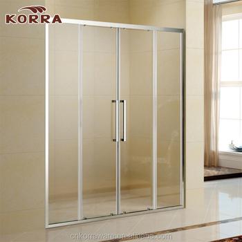 6 Mm Tempered Corner Glass Shower Enclosurestraight Shape Sliding