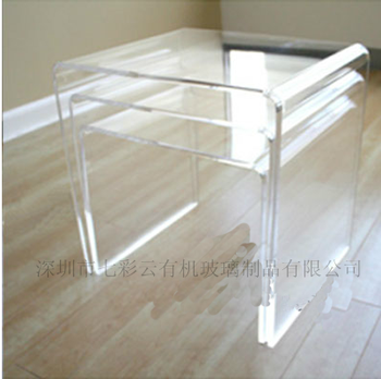 Eco-friendly China acrylic furniture lucite console table