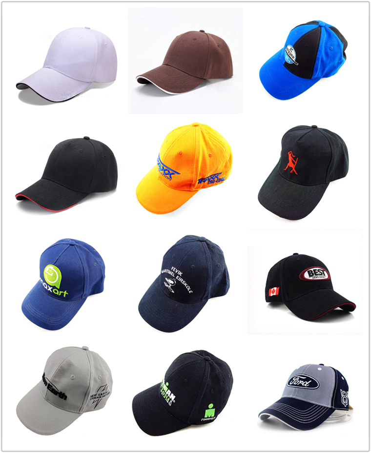 Promotional LOGO printed embroidery custom sports baseball cap hat