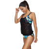 On Sale printed push up tankini swimsuits swimwear women sexy bikini