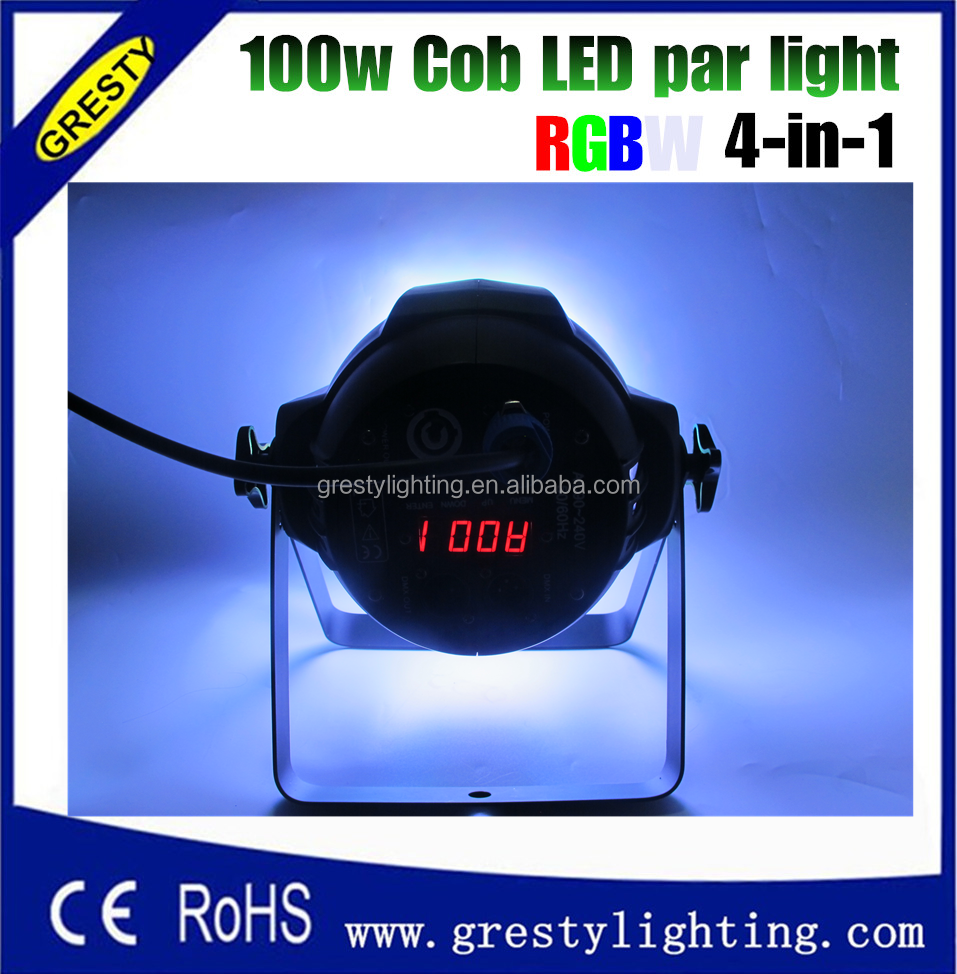 barn door par lights 100W RGBW COB LED Wash stage dj show event
