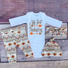 Baby-kleidung Individuell Bedruckte Strampler Thanksgiving Outfit In Taobao