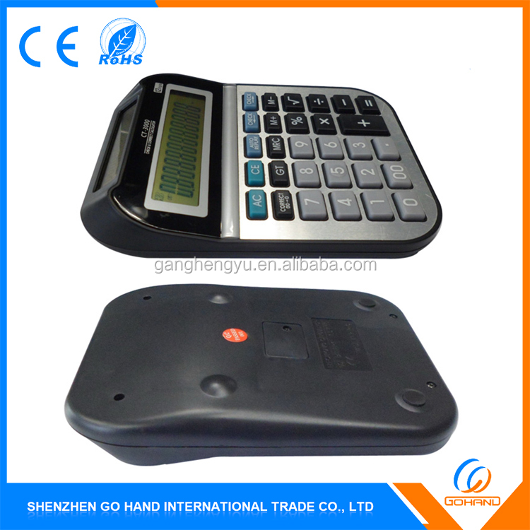 Best Quality Gift Office 12-Digits Electronic Lcd Display Desktop Calculator