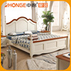 Competitive Price Luxury Wooden King Size Double Bed Designs