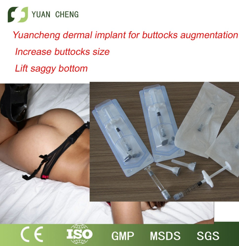 Yuancheng safe and <strong>natural</strong> ha dermal filler for breast and buttocks enhancement derm 10ml